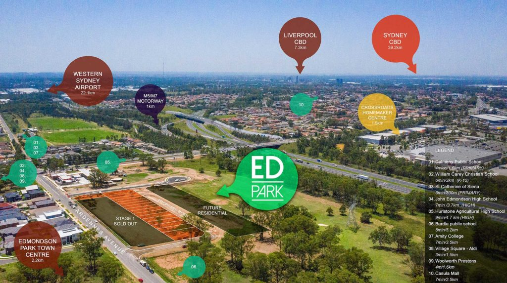 Edmondson Park, House & Land Packages in Western Sydney